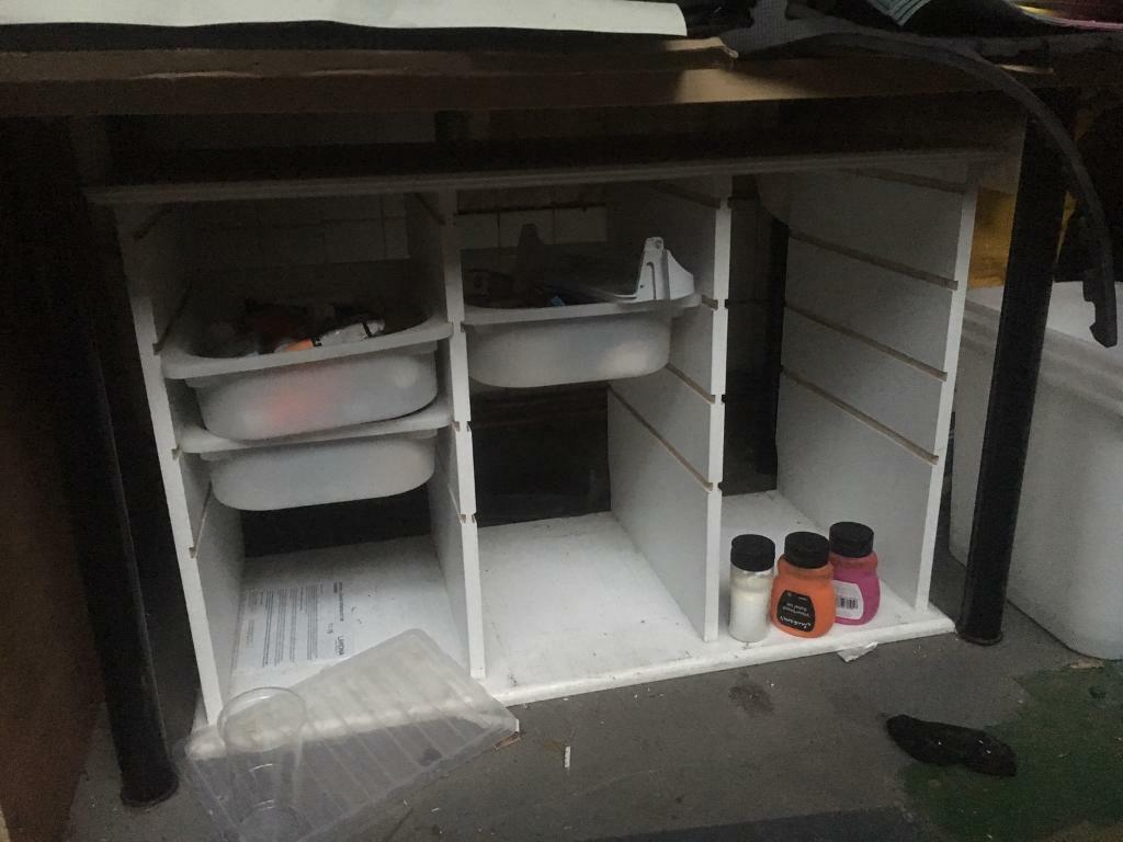 Children's Craft / Hobby Draw unit (some draws included)