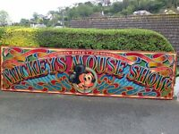 very rare mickey mouse sign