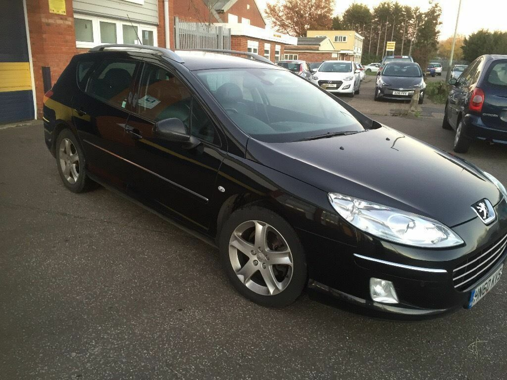2010 Peugeot 407 2.0 hdi sw estate fully loaded 12 months mot/3 months parts and labour warranty