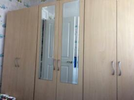 Triple wardrobe Bangor urgent need away tues pm