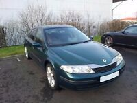 RENAULT LAGUNA EXTREME 1.8 16V LPG MOT MARCH 2017 Reduced price