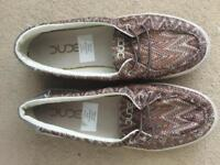 Hey Dude Deck Shoes - Size 5