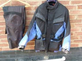 All weather jacket and trousers