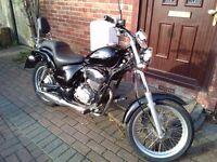 2003 Gilera Coguar 125 motorcycle, chopper style, new 12 months MOT, good runner, learner legal,,,,