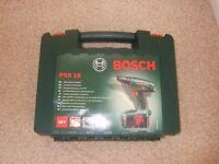 Bosch PSR18 Cordless drill