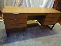 Vintage DESK Dresing Table LEBUS 1960s