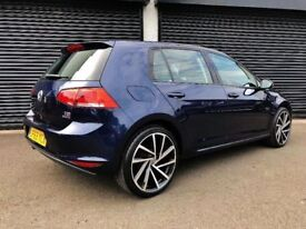 2013 VOLKSWAGEN GOLF 1.6 TDI 105 BLUEMOTION S NOT POLO JETTA AUDI A3 A4 A1 BMW 120D MINI ASTRA FOCUS