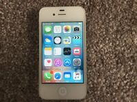 Apple iPhone 4S 16GB White - NOTE FAULTY SPARES OR REPAIRS ONLY !!