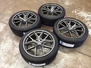 18 BMW Gun Metal Wheels 5x120 and All Season Tires 225/40R18 (BMW Cars) Calgary Alberta Preview