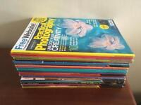 Practical Photography magazines x20