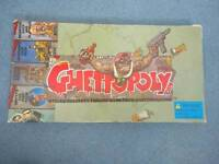 Ghettopoly Board Game Rare Version of Monopoly USA Collectable