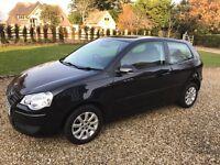 2007 VW VOLKSWAGEN POLO 1.4 PETROL, MANUAL, 1 OWNER