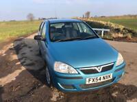 Vauxhall corsa life 1.3 cdti 54 plate 12 months mot