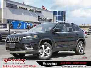 2019 Jeep New Cherokee Limited | LEATHER |  0% FIN. OAC | ASK US