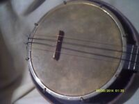 THE GEORGE FORMBY BANJO In NICE CONDITION >>>> ++++