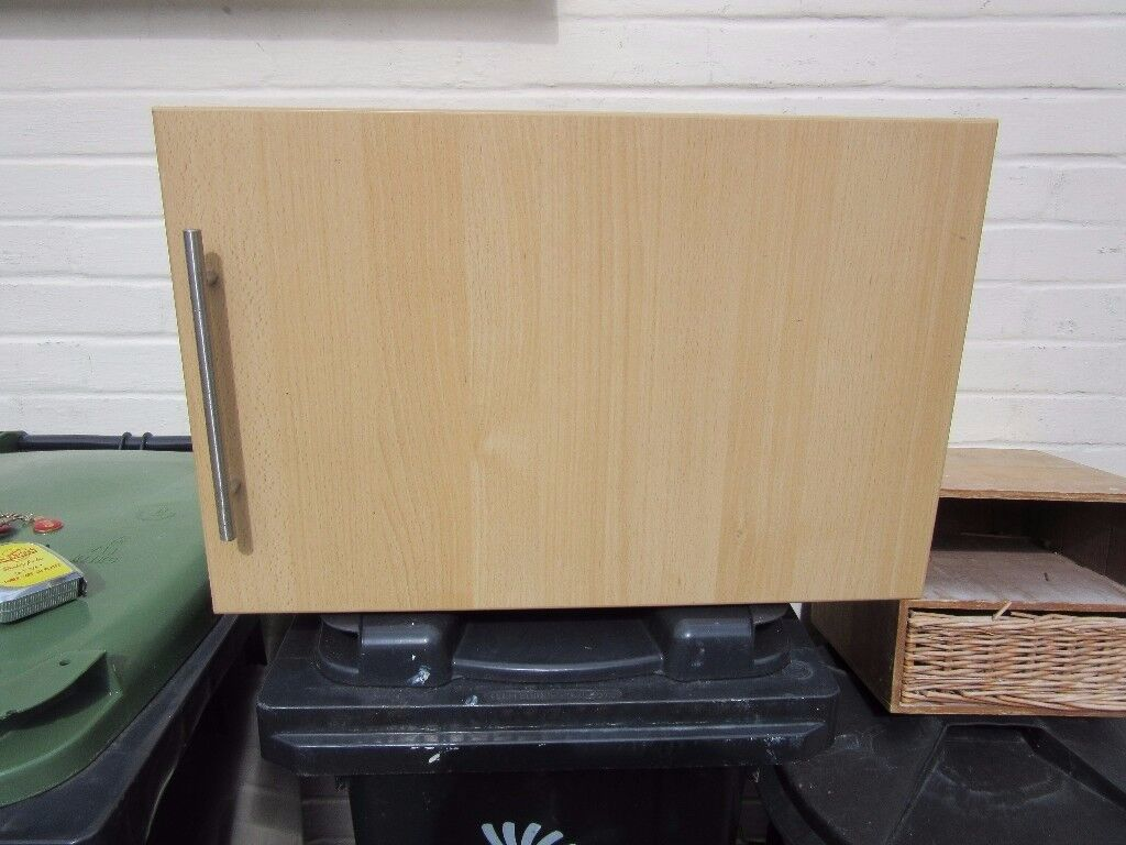 Howdens Kitchen Wall Unit with Beech Effect Door. | in Christchurch ...
