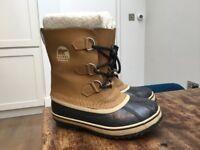 Kids Sorel Caribou Waterproof Snow Boots UK 2 (EU 34)