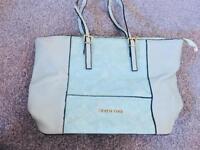 Aqua Gold Michael Kors Hand Bag