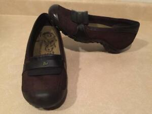 75ff8cef0a3 Womens Size 8.5 Merrell Dark Brown Moc Slip-On Shoes