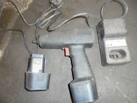 SNAP ON Classic, old school, Vintage 3/8 Nut driver, Impact Gun & Charger WORKING!
