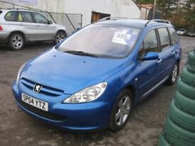 Peugeot 307 SW Envy ltd edt, trade in to clear!