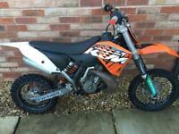 KTM 65 SX dirt bike/motocross bike