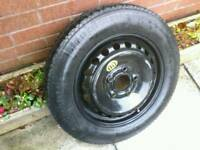 BMW SPARE WHEEL / space saver ,New continental tyre