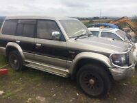 Mitsubishi Pajero 2.8TD Bargain £350 No Offers