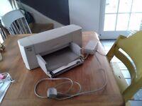 "£10 printer for sale ""Working well"" Deskjet 840C (ink provided)"
