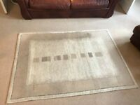 Large grey rug   ok condition   collection only