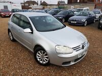 Volkswagen Golf 1.9 TDI Match 5dr, DIESEL, FULL SERVICE HISTORY, HPI CLEAR, LONG MOT, P/X WELCOME