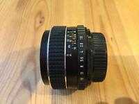 Asahi SMC Takumar 55mm f/1.8 Lens - M42 Mount - Fujifilm Olympus Sony Nikon Canon Panasonic Lumix