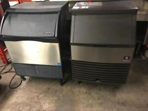 200lb , 800lb , 1000lb Scotsman ice machines with bin , energy star like new ice machine