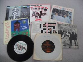 A SMALL COLLECTION OF MADNESS SINGLES. ALL PHOTOGRAPHED AND LISTED.