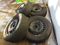 Ford Winter Wheels 215/55/16