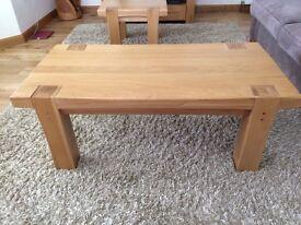 Coffee Table in light oak