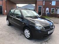 2004 RENAULT CLIO 1.2 EXPRESSION MOTED £425
