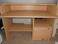 Desk solid construction bought from Forrest furnishing
