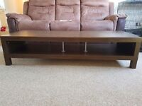 Walnut effect TV unit in good condition £20