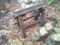 Vintage log cutter