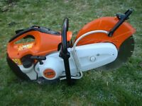 STIHL TS410 PETROL DISC CUTTER WITH DIAMOND BLADE