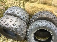 Quad bike tyres, off a Can Am Renegade 1000xxc for sale  Ashington, Northumberland