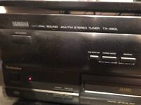 Yamaha tx-480l am/fm stereo tuner