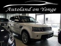 2011 Land Rover Range Rover Sport LUXURY HSE NAVIGATION,LEATHER,