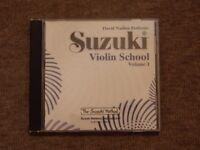 Suzuki Violin School Volume 1 CD