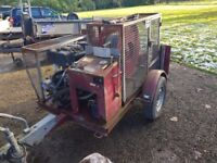 Trailer Cable Winch - Tractor, Logging, Timber, Forestry