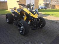 ** Road Legal QuadBike 250cc Jinlin Chrome Rims rare**