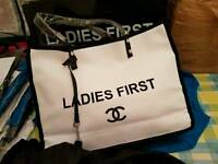 ladies first chanel shopping bag new
