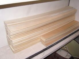 Curved Sprung Wooden Double and Single Bed Slats. Quantity Available