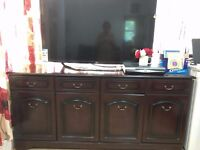 8 months used tv table/stand
